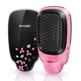 飛利浦(Philips) HP4589 EasyShine 負離子造型髮梳適用於頭髮造型: HP4589