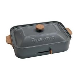 樂信(Rasonic) RMP-TX130/G 多功能電熱盤適用於多功能煮食鍋 : RMP-TX130/G