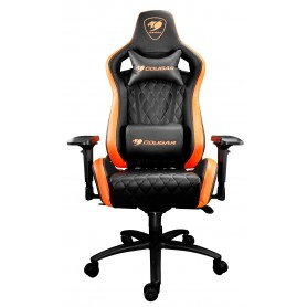 Cougar Armor S Gaming Chair (Black/Orange) 電競椅