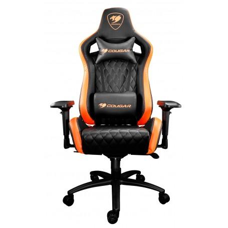 Cougar Armor S Gaming Chair (Black/Orange) 電競椅