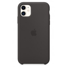 IPHONE 11 SILICONE CASE (BLACK)