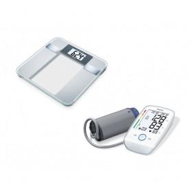 Beurer BG13 身體脂肪測量及BM 45 特大螢幕手臂式血壓計
