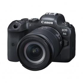 佳能(Canon) EOS R6 數碼相機連 RF 24-105mm f/4-7.1 IS STM鏡頭套裝