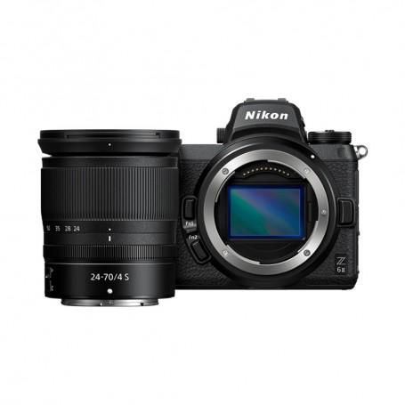 尼康(Nikon) Z6 II 數碼相機連 NIKKOR Z 24-70mm f/4 S 鏡頭套裝
