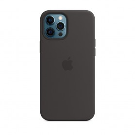 APPLE IPHONE 12 PRO MAX 矽膠護殼 (黑色)