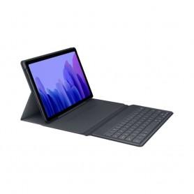 三星(SAMSUNG) GALAXY TAB A7 原廠藍牙書本式鍵盤保護套(灰色)