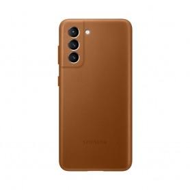三星(Samsung) Galaxy S21 真皮背蓋