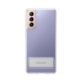 三星(Samsung) Galaxy S21 透明立架式保護套