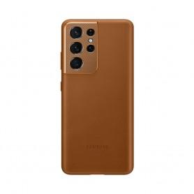 三星(Samsung) Galaxy S21 Ultra 真皮背蓋