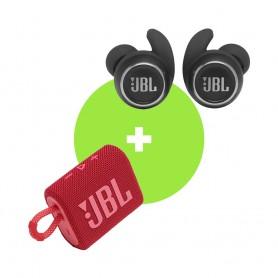 [套裝] JBL Go 3 迷你防水藍牙喇叭 及 JBL Reflect Mini NC 真無線耳機