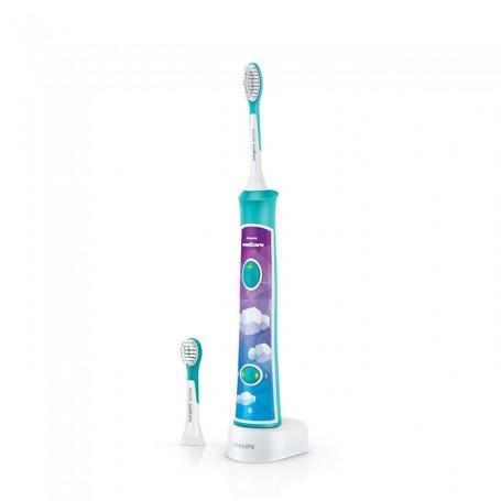 飛利浦(Philips) HX-6322/04 Philips Sonicare 兒童聲波震動牙刷適用於電動牙刷: HX-6322