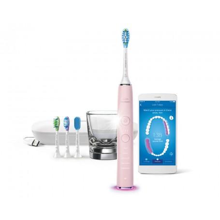 飛利浦(Philips) HX-9924 Philips Sonicare DiamondClean Smart 聲波震動牙刷,附應用程式適用於電動牙刷: HX-9924