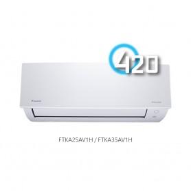 大金(Daikin) 420 藍光FTKA變頻淨冷掛牆分體冷氣機 (A系列)