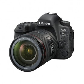 佳能(Canon) EOS 6D Mark II 連EF 24-105mm f/4L IS II USM鏡頭套裝適用於單反相機: EOS-6D MK II/24-105