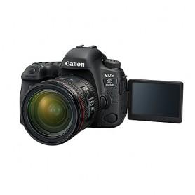 佳能(Canon) EOS 6D Mark II 連EF 24-70mm f/4L IS USM鏡頭套裝適用於單反相機: EOS-6D MK II/24-70