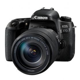 佳能(Canon) EOS 77D 連EF-S 18-135mm f/3.5-5.6 IS USM鏡頭套裝適用於單反相機: EOS-77D/18-135MMIS