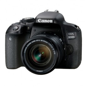 佳能(Canon) EOS 800D 連EF-S 18-55mm f/4-5.6 IS STM鏡頭套裝適用於單反相機: EOS-800D/18-55MMIS