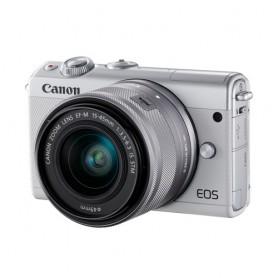 佳能(Canon) EOS M100 連EF-M 15-45mm f/3.5-6.3 IS STM鏡頭套裝數碼相機適用於單反相機: EOS-M100/15-45KIT