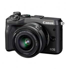 佳能(Canon) EOS M6 數碼相機連EF-M 15-45mm f/3.5-6.3 IS STM鏡頭套裝適用於單反相機: EOS-M6/15-45 KIT