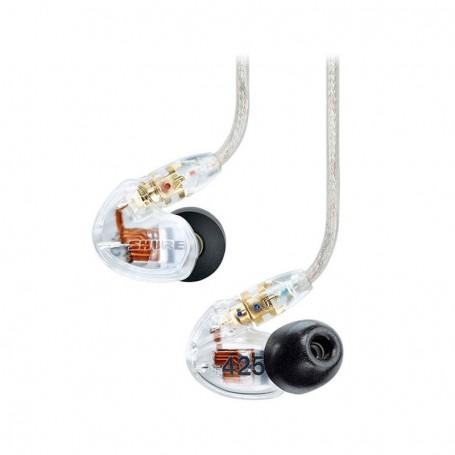 SHURE SE425 隔音耳機適用於耳機及耳筒: SE425