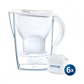 BRITA Marella XL 3.5L 濾水壺 及 Maxtra 濾芯 (6件裝)