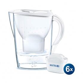BRITA Marella COOL 2.4L 濾水壺 及 Maxtra+ 濾芯 (6件裝)
