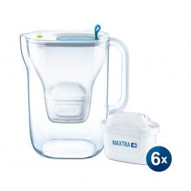 BRITA STYLE XL 3.6L LED 智慧型濾水壺 及 Maxtra+ 濾芯 (6件裝)