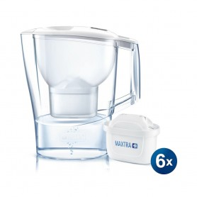 BRITA ALUNA XL 3.5L 濾水壺 及 Maxtra+ 濾芯 (6件裝)