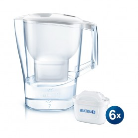 BRITA ALUNA COOL 2.4L 濾水壺 及 Maxtra+ 濾芯 (6件裝)