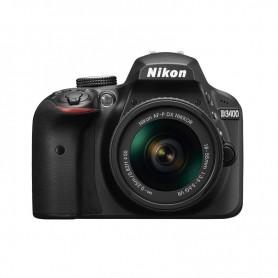 尼康(Nikon) D3400 連 AF-P DX NIKKOR 18-55mm f/3.5-5.6G ED VR 鏡頭套裝單鏡反光相機適用於單反相機: D3400/AFP18-55VR/BK
