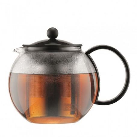 BODUM ASSAM 茶器連不銹鋼濾網 (1.0 公升) - 黑