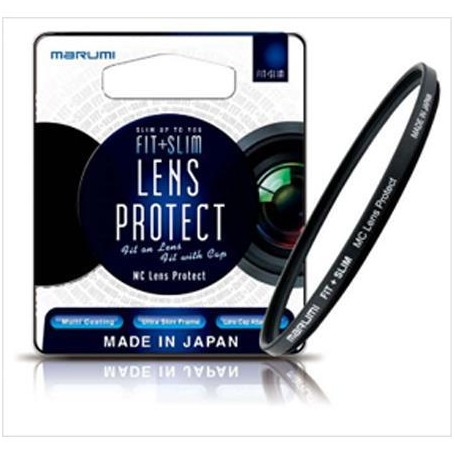 Marumi 82mm Fit + Slim MC Lens Protect 濾鏡