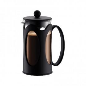 BODUM KENYA 咖啡壺 (3杯,12oz) - 黑色