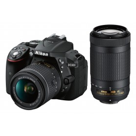 尼康(Nikon) D5300 連 18-55mm 鏡頭套裝 + AF-P DX 70-300mm VR 鏡頭