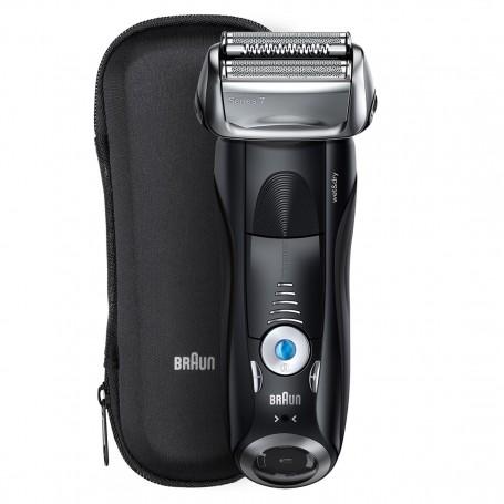 百靈牌(Braun) Series 7 7840s 電動刀網電鬚刨可乾濕兩用,配備提升精凖修剪器和旅行盒
