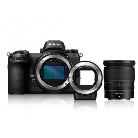 尼康(Nikon) Nikon Z7 (連 24-70mm f/4 S 鏡頭及接環配接器 FTZ 套裝)