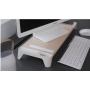 PALLO 原木風   多功能螢幕架-無線充電款
