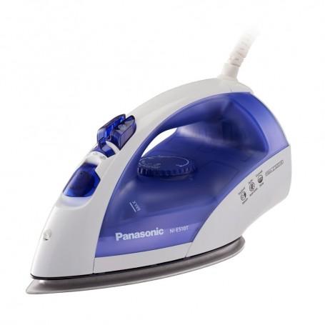 樂聲(Panasonic) NI-E510T/BL 鈦塗層底板蒸氣熨斗適用於熨斗: NI-E510T/BL