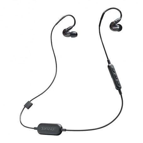 SHURE SE215-BT1 Sound Isolating In-Ear 無線藍牙隔音耳機適用於耳機及耳筒: SE215-BT1