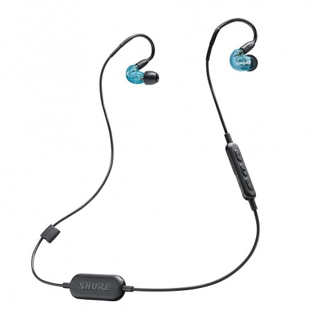 SHURE SE215SPE-BT1 Sound Isolating 無線藍牙隔音耳機特别版適用於耳機及耳筒: SE215SPE-BT1